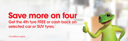 Offers from Bridgestone Tyres in the Sydney NSW catalogue