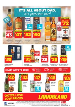 Offers from Liquorland in the Perth WA catalogue