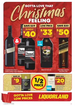 Grocery offers in the Liquorland catalogue in Sydney NSW