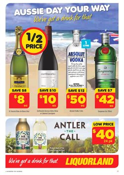 Offers from Liquorland in the Melbourne VIC catalogue