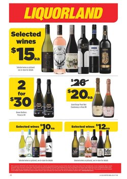 Liquorland catalogue ( 2 days ago )