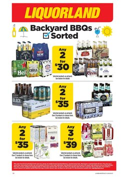 Supermarkets offers in the Liquorland catalogue ( 1 day ago )