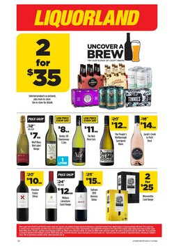 Supermarkets offers in the Liquorland catalogue ( Expires tomorrow )