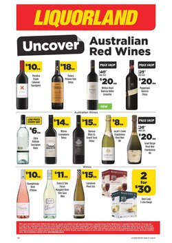 Supermarkets specials in the Liquorland catalogue ( 3 days left)