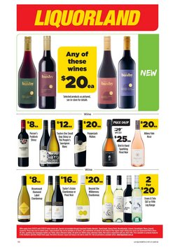Supermarkets specials in the Liquorland catalogue ( Expires today)