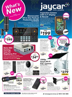 Electronics & Appliances specials in the Jaycar Electronics catalogue ( 23 days left)