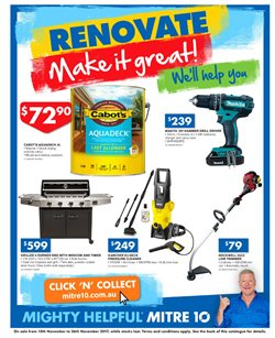 Garden, Tools & Hardware offers in the Mitre 10 catalogue in Adelaide SA