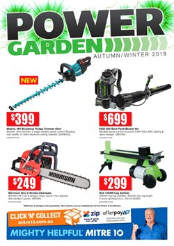 Offers from Mitre 10 in the Melbourne VIC catalogue