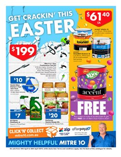 Offers from Mitre 10 in the Perth WA catalogue