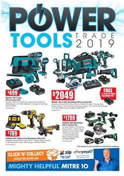 Offers from Mitre 10 in the Townsville QLD catalogue