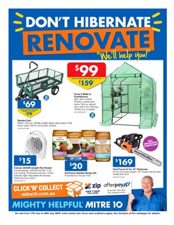 DIY & Garden offers in the Mitre 10 catalogue in Sydney NSW