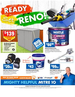 DIY & Garden offers in the Mitre 10 catalogue in Melbourne VIC ( 2 days ago )
