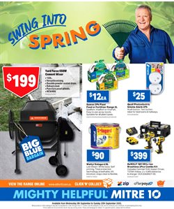 DIY & Garden offers in the Mitre 10 catalogue in Sydney NSW ( Expires today )