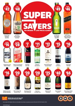 Grocery offers in the BWS catalogue in Newcastle NSW