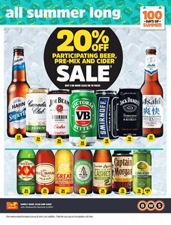 Offers from BWS in the Sydney NSW catalogue