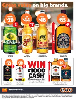 Offers from BWS in the Perth WA catalogue