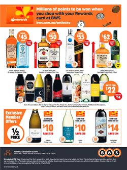 Grocery offers in the BWS catalogue in Sydney NSW