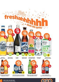 Offers from BWS in the Nelson Bay NSW catalogue