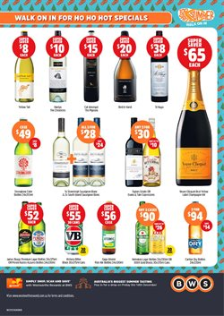 Offers from BWS in the Dubbo NSW catalogue