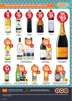 Lansell Square offers in the BWS catalogue in Bendigo VIC