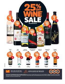 Offers from BWS in the Brisbane QLD catalogue