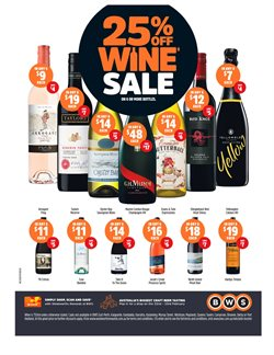 Offers from BWS in the Mandurah WA catalogue