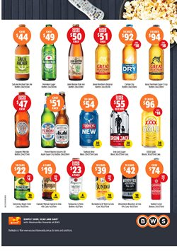 Supermarkets offers in the BWS catalogue in Sydney NSW