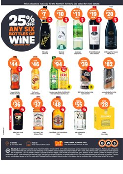 Supermarkets offers in the BWS catalogue in Adelaide SA