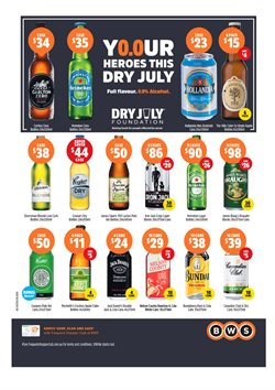 Offers from BWS in the Green Point NSW catalogue