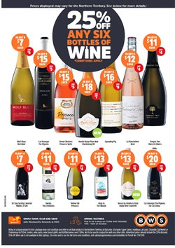 Offers from BWS in the Adelaide SA catalogue