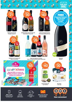 Supermarkets offers in the BWS catalogue in Warragul VIC