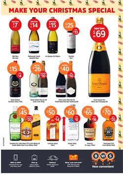 Supermarkets offers in the BWS catalogue in Yass NSW