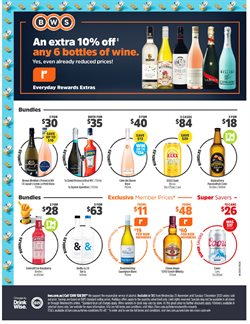 Supermarkets offers in the BWS catalogue in Sydney NSW ( Expires tomorrow )