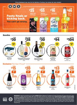 BWS specials in the BWS catalogue ( 2 days left)