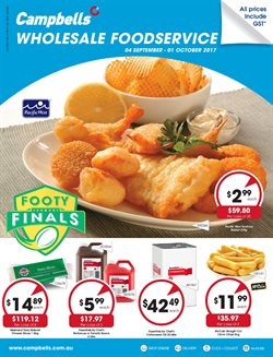 Offers from Campbells Wholesale in the Sydney NSW catalogue