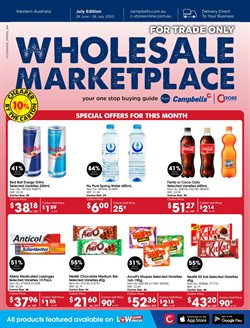 Campbells Wholesale catalogue in Perth WA ( 22 days left )