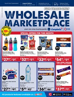 Campbells Wholesale catalogue ( 9 days left )