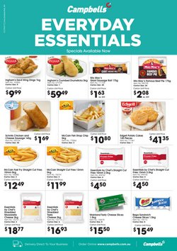Campbells Wholesale specials in the Campbells Wholesale catalogue ( Expired)