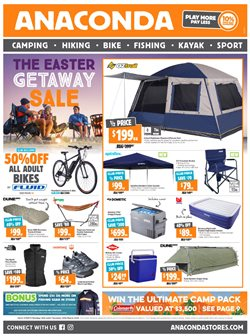 Offers from Anaconda in the Perth WA catalogue