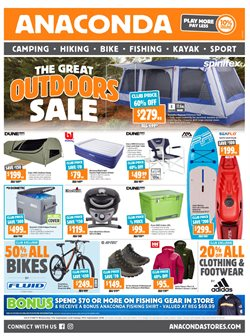 Offers from Anaconda in the Canberra ACT catalogue
