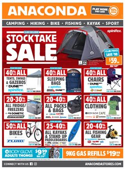 Offers from Anaconda in the Sydney NSW catalogue