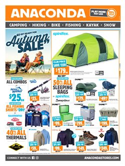 Sales offers in the Anaconda catalogue in Sydney NSW