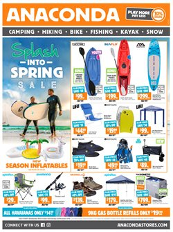 Sport offers in the Anaconda catalogue in Hobart TAS