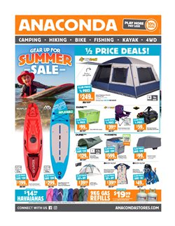Offers from Anaconda in the Brisbane QLD catalogue