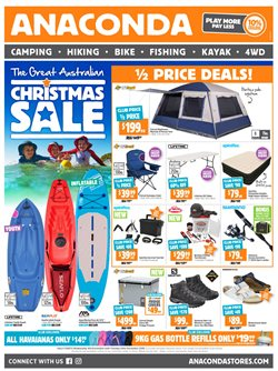 Sport offers in the Anaconda catalogue in Canberra ACT