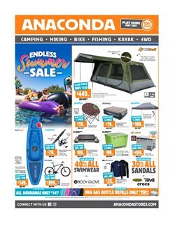Sport offers in the Anaconda catalogue in Melbourne VIC ( 10 days left )