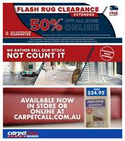 Carpet Call In Devonport Weekly Catalogues Sale