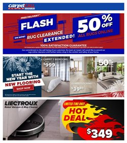 Homeware & Furniture offers in the Carpet Call catalogue ( 10 days left )