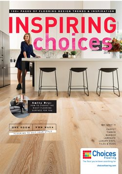Offers from Choices Flooring in the Melbourne VIC catalogue
