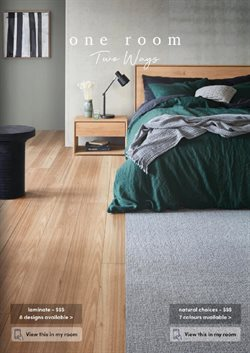 Homeware & Furniture offers in the Choices Flooring catalogue ( 10 days left )